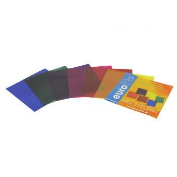 Eurolite Juego de Láminas de Colores 19x19cm 6 Colores