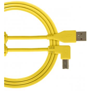 Udg U95006YL Ultimate Cable USB 2.0 A-B Amarillo en Angulo 3M