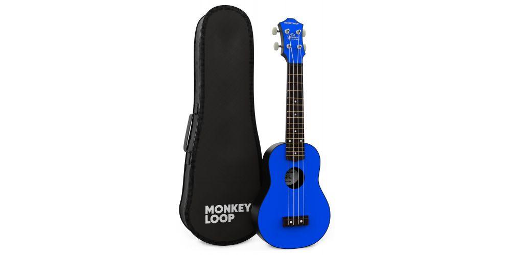 monkey loop gorilla blue bag