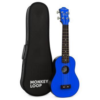 Monkey Loop Gorilla Blue Ukelele Soprano
