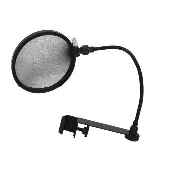 Omnitronic Microphone-Pop Filter black Filtro Antipop para micrófono