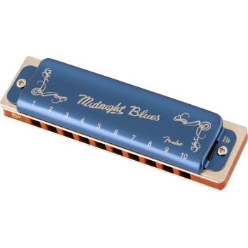 Fender Armónica Midnight Blues Sib