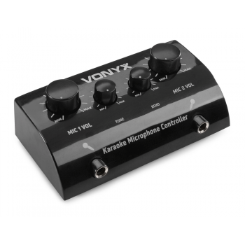 VONYX AV430B controlador Micrófonos karaoke negro