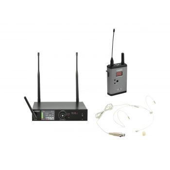 PSSO Set WISE ONE Micrófono Inalámbrico de Diadema 823-832 863-865MHz