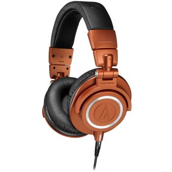 Audio Technica ATH-M50XMO Auriculares Profesionales Edición Limitada Marrón
