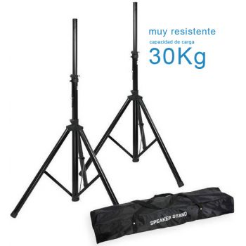Soportes altavoz profesional con bolsa PAREJA, RF130