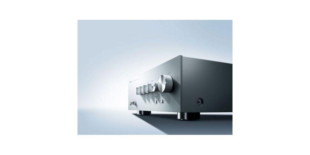 yamaha as701 silver amplificador vista