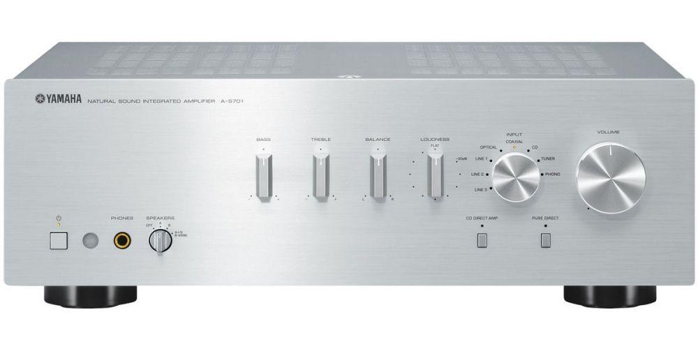 yamaha as701 silver amplificador