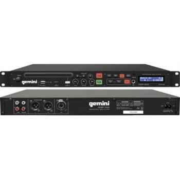 GEMINI CDMP-1500 Reproductor CD/MP3/USB Montaje Rack 1 U