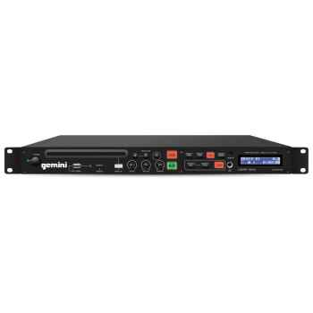 GEMINI CDMP-1500 Reproductor CD/MP3/USB Montaje Rack 1 U
