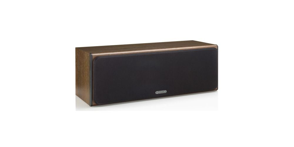 MONITOR AUDIO BRONZE CENTRE WALNUT FRONT