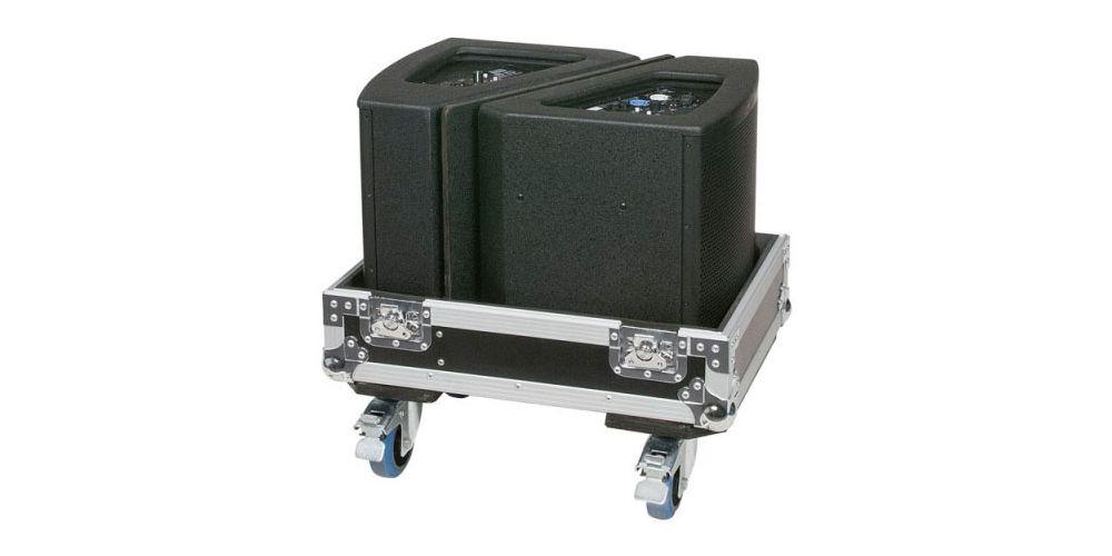 dap audio flightcase 2x monitores escenario 10 d7318 speakers