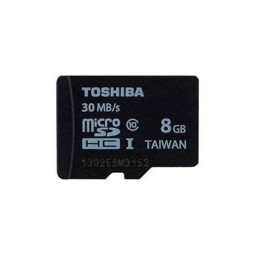 TOSHIBA Micro SD 8Gb Clase 10 + Adaptador SD