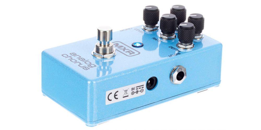 dunlop mxr m234 analog chorus dc