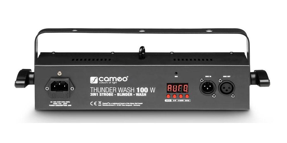 CAMEO CLTW100W Estrobo, cegadora y washer