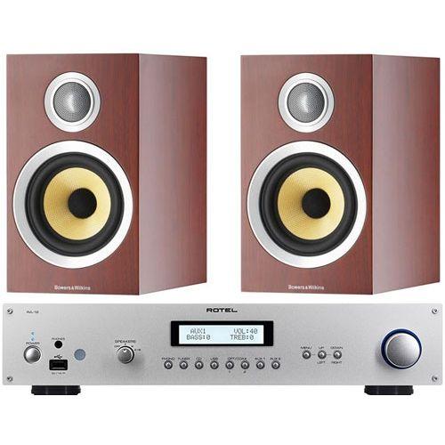 ROTEL RA12 Silver Amplificador Plateado+B&W CM1S2 Rosenut