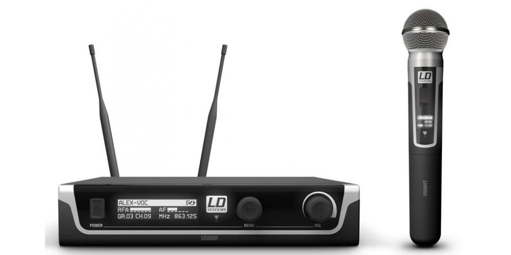 comprar microfono inalambrico LDsystems U508HHD