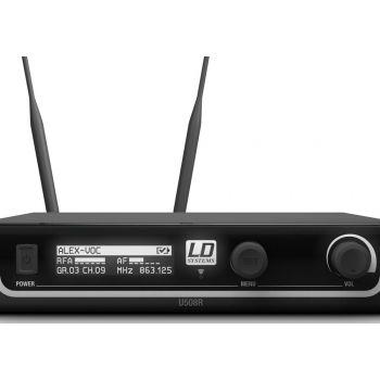 LD SYTEMS U508 HHD Sistema inalámbrico Con Micrófono de Mano