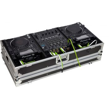 Walkasse WMCD-12GL2000II Flight case maleta para Pioneer, Denon  Allen & Heath Native