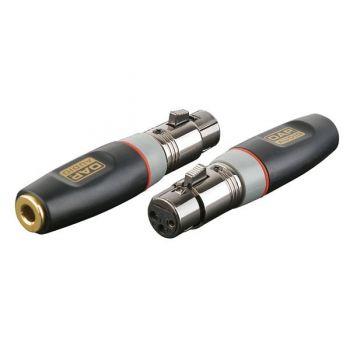DAP Audio XGA22 Conector Adaptador XLR Hembra / Jack Hembra