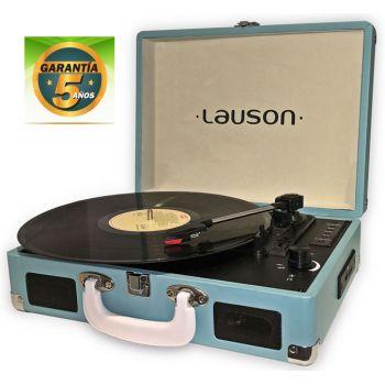 Lauson CL 604 Azul Tocadiscos Vintage USB Bluetooth