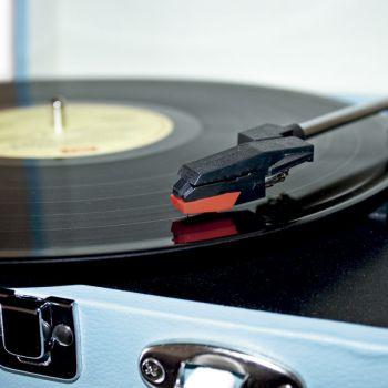 Lauson CL 604 Azul Tocadiscos Vintage USB Bluetooth ( REACONDICIONADO )