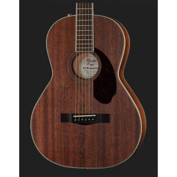 Fender PM-2 Parlor All Mahogany Natural + Estuche