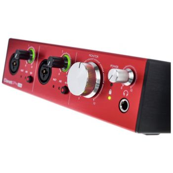 Focusrite Clarett 2PRE USB Interface Audio USB 2.0. 10 Entradas / 4 salidas