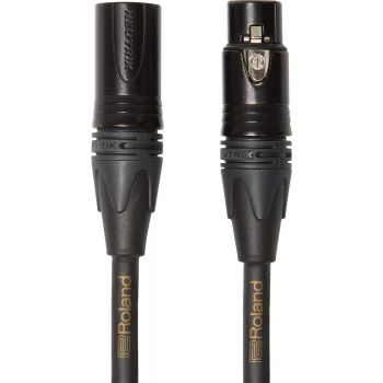 Roland RMCGQ10 Cable XLR Macho a XLR Hembra Neutrik 3 Metros