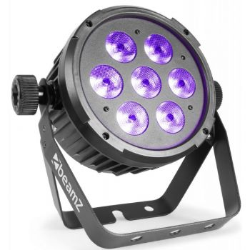 Beamz BT280 Foco PAR Plano LED 7 x 10W 6-en-1 RGBAW-UV 151308