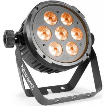 Beamz BT280 Foco PAR Plano LED 7 x 10W 6-en-1 RGBAW-UV 151308