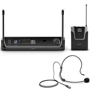 LD Systems U308 BPH istema inalámbrico con petaca y micrófono de diadema