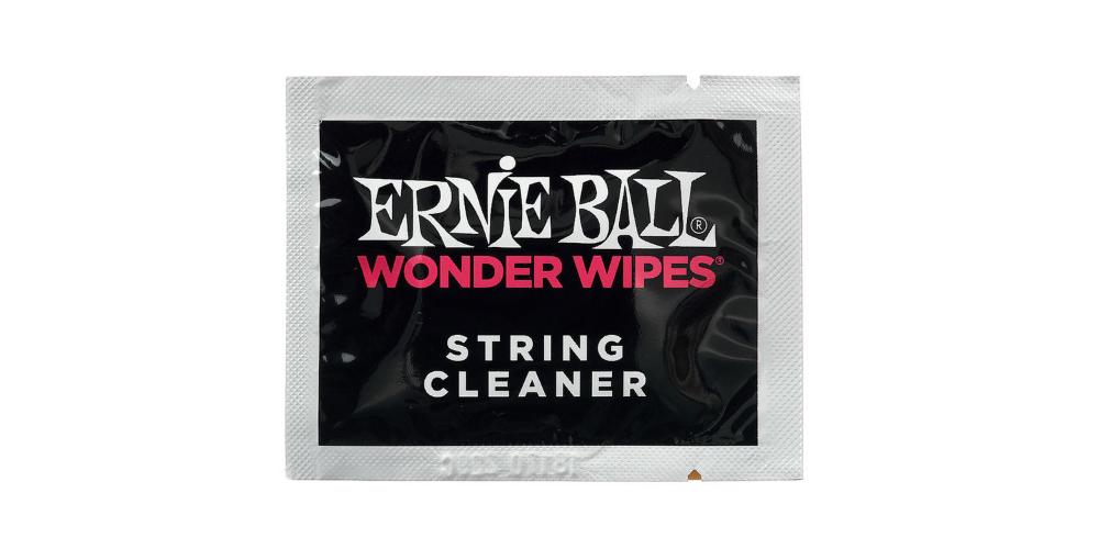 ernie ball 4277 toallita limpiador cuerdas