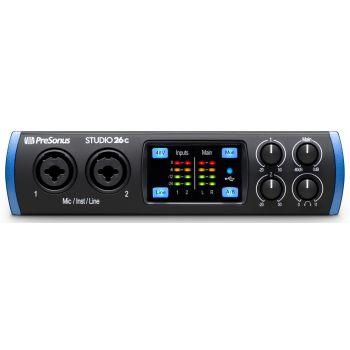 Presonus STUDIO 26-C Interface de Audio USB-C 2X4