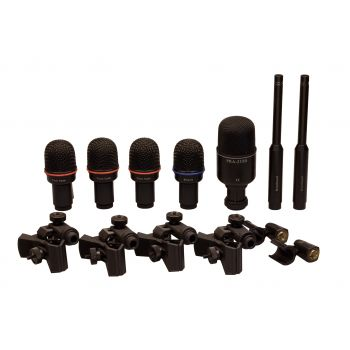 Superlux DRK K5C2 Set de Micrófonos para Batería + Maleta