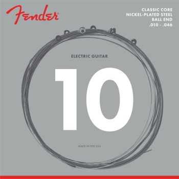 Fender Classic Core Electric Guitar Strings 255R (.010-.046)
