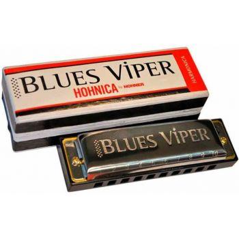 Hohner BLUES VIPER Serie Enthusiast. Diatónica, 10 agujeros en DO