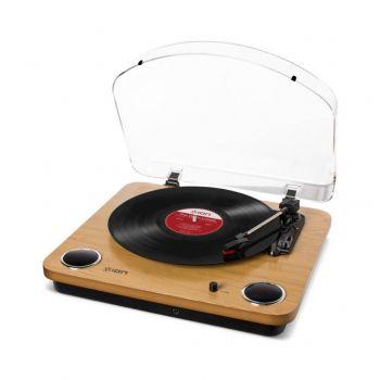 Ion Audio Max LP en Madera Giradiscos Vintage