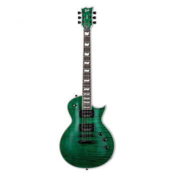 ESP LTD EC-1000 Guitarra Eléctrica See Thru Green