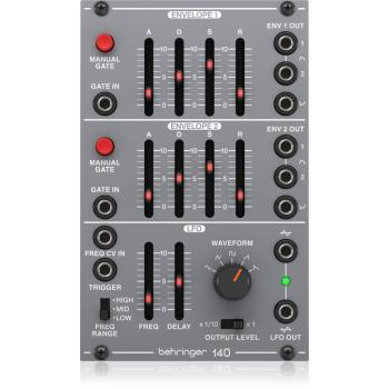 Behringer 140 Dual Envelope/LFO Modulo Sintetizador Serie Eurorack