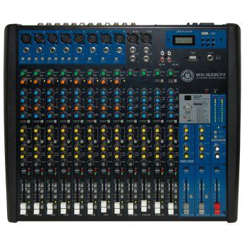 Topp Pro MXI.1622CFX Mezclador de 16 Canales con Efectos y MP3
