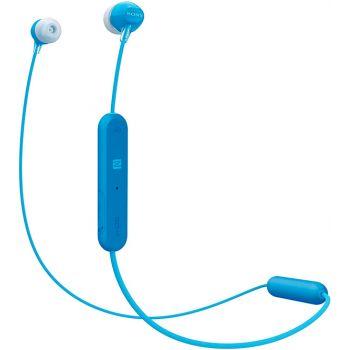SONY WI-C300L Blue Auricular inalámbrico Bluetooth deportes. Batería Litio 8 Horas
