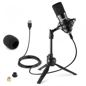 VONYX CM300B Micrófono de Estudio USB Negro 173506