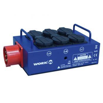 Work Pro Power Splitter Caja de Conexión