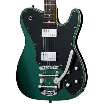 Schecter PT FASTBACK II B Dark Emerald Green. Guitarra Eléctrica