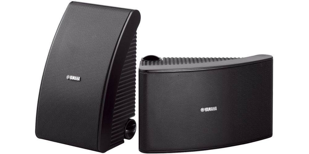yamaha nsaw592 bk altavoces intemperie
