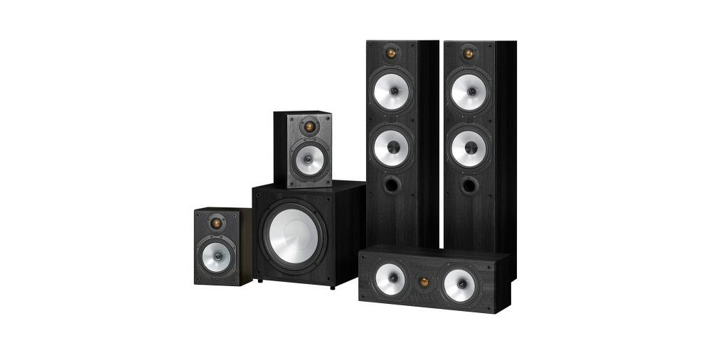 monitor audio power 4 black