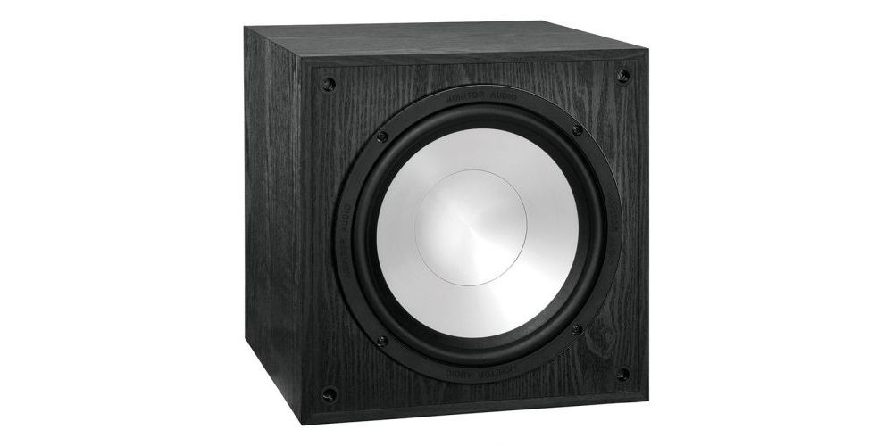 monitor audio power 4 black 4