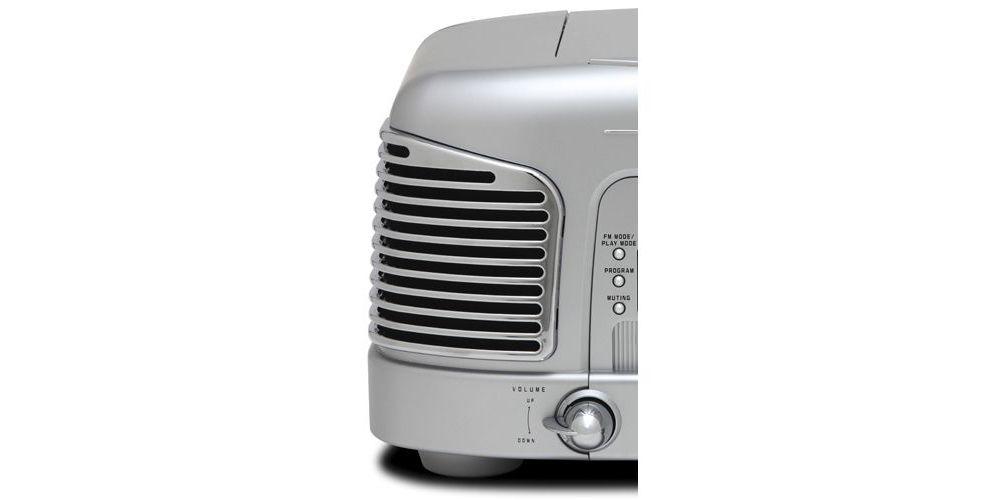 TEAC SL-D930S Micro Cadena Retro, Silver