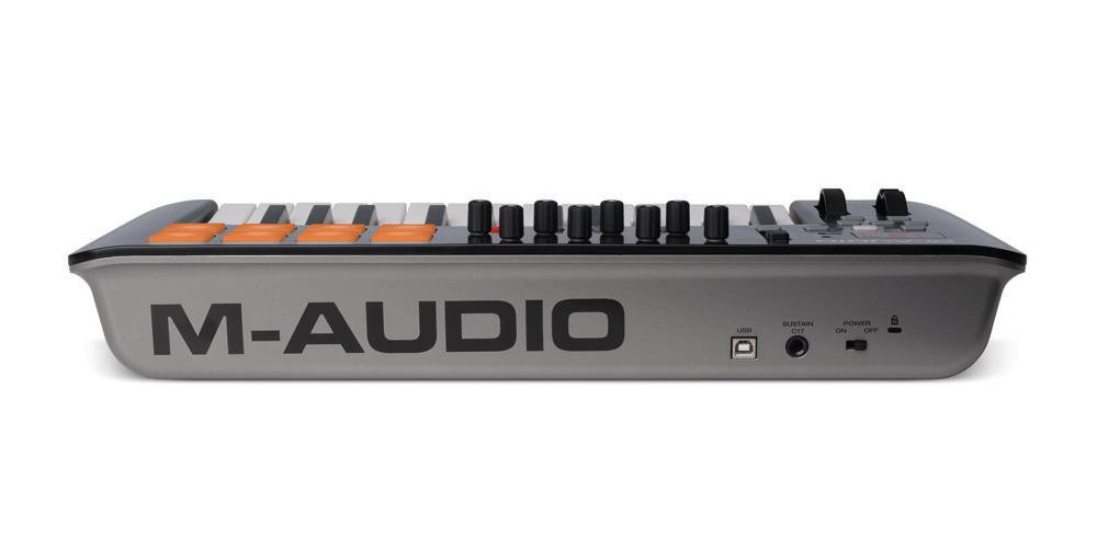 m audio oxygen25 mk4 teclado controlador